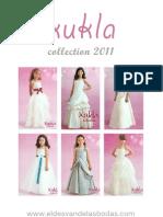 Kukla Collection 2011 - Vestidos de arras para niñas