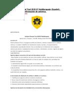 Antivirus Removal Tool 2020.07 Multilenguaje (Español), Herramienta de eliminación de antivirus.