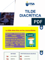 Diccionario de casos de Tilde diacrítica
