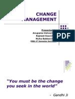CHANGE MANAGEMENT 1