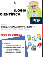 QUIMICA Y METODOLOGIA CIENTIFICA I