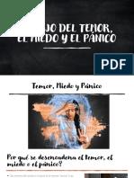 Manejo del temor el miedo y el panico