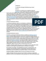 Ejemplos de estrategias de distribución