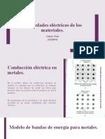 Propiedades electricas de los materiales