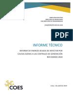 Informe EDI Nº-042 Marzo 2020