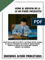 CONTRA EL TROTKISMO. Ediciones ACCIÓN  PROLETARIA