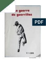 Guerra de guerrillas - Lenin 1906