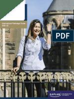 University of Glasgow International Pathways Guide 2020 22