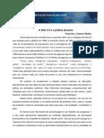Web 2.0 e Pratica Docente V2