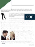 La Asertividad en los Negocios _ Técnicas Comerciales Albacete