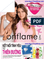 Catalogue My Pham Oriflame Thang 2/2011