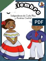 Setiembre independencia de Costa Rica y centroamerica