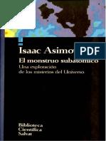 004. El Monstruo Subatómico - Isaac Asimov