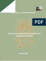 SINTESIS INFORMATIVA DE ESCUELA DE FORMACIÓN PERMANENTE DE AGENTES DE PASTORAL