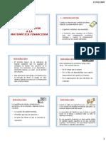TEMA 1 INTRODUCCION E INTERES SIMPLE