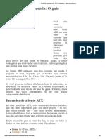 Fonte ATX de Bancada O Guia Definitivo