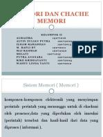 Kel-2 MEMORI DAN CHACHE MEMORI