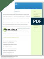 Financial Formulas, Financial Equations and Economic Equations