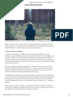 7 reflexões sobre a arte de escrever _ Rodrigo Gurgel