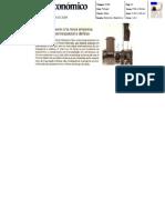 Critical Materials - Diário Económico - 2008-03-28