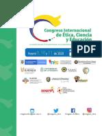 Congreso Internacional de ética. Modalidad virtual.
