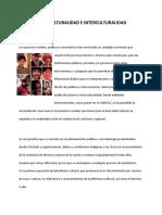 SEMINARIO MULTICULTURALIDAD E INTERCULTURALIDAD