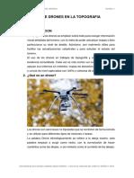 USO DE DRONES EN LA TOPOGRAFIA