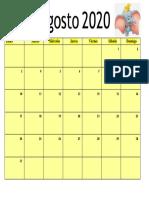 calendario agsoto perso