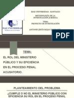 diapositivas para sustentacion METODOLOGIA