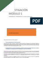 Investigación M1 Dora Sánchez