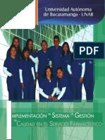 Módulo Implementación del Sistema de Gestión de la Calidad en el Servicio Farmacéutico