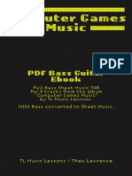 TL Music Lessons - Computer Games Music - Ebook - Computer Games Music - Bass Guitar Sheet Music.pdf