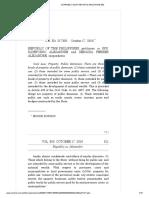 Republic of the Philippines v. Spouses Alejandre, G.R. No. 217336