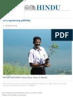 The Hindu _ Life & Style _ Metroplus _ on a Greening Journey