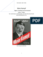 Mein Kampf by Adolf Hitler - Abridged, Clarified and Annotated