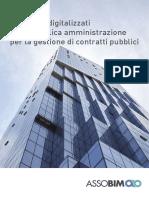 I processi digitalizzati nella pubblica amministrazione per la gestione di contratti pubblici