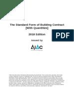 AIAC 2018 Standard form