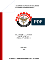 FISICA APLICADA II.