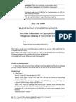 Online Infringement of Copyright (Initial Obligations)