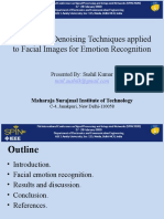 Analysis of Denoising Techniques applied to Facial Images for Emotion Recognition