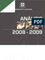 Análisis Anuario 2008-2009