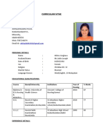 Athira Resume