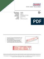 10-0136 - Surelite™ Electronic Ballast for UV filter model S50C