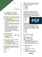 Quiz 1. generalidades, hibridación, formulas.