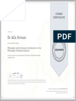 39) Philosophy and sciences course certificate.pdf