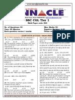 823 Question Paper math