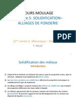 Chap 3 Solidification des métaux 2020 -texte