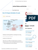How To Prepare Schedule of Loads - Electrical Axis.pdf