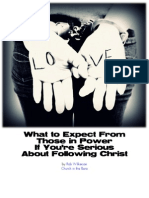 What to Expect From Those in Power if You Are Serious About Following Christ