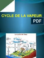 3- CYCLE DE LA VAPEUR